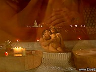 Tender couple from India knows that foreplay is very important thing before sensual lovemaking 11