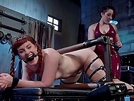 Red-haired beauties play BDSM games and get the wildest orgasms from their pervert affairs 5