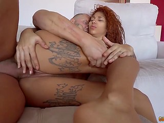 It's a great honor for Venezuelan girl Venus Afrodita to give deepthroat blowjob and get fucked by eminent Nacho Vidal