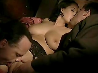 Seductive Italian with curvy shapes makes two American soldiers capitulate in vintage XXX clip