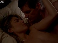 Most piquant sex scenes from American TV series 'Banshee' starring hot actress Lili Simmons 11
