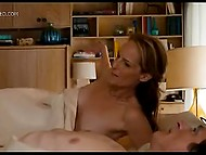 Famous Hollywood actress Helen Hunt exposes boobs and pussy in intimate scene of full-length movie 4