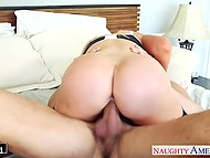 Lady let husband fuck great-breasted girlfriend Nikki Benz as an excuse for cheating 6