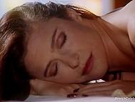 Mature woman Mimi Rogers enjoys sensual massage in obscene erotic movie Full Body Massage 10
