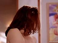Mature woman Mimi Rogers enjoys sensual massage in obscene erotic movie Full Body Massage 6