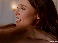 Mature woman Mimi Rogers enjoys sensual massage in obscene erotic movie Full Body Massage 9