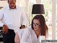 Young wife doesn't want to cheat on husband with black male but desire of anal sex is much stronger 4