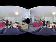 Reality Lovers presents blonde from Germany gives blowjob and fucks in VR sex video 8