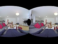 Reality Lovers presents blonde from Germany gives blowjob and fucks in VR sex video 9