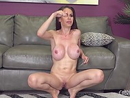 Voluptuous pornstar just says about big black dick when he appears to dive into her cunt 11