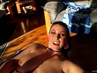 Horny sweet brought herself to orgasm with help of sex toys under control of BF with camera 5