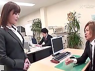 Japanese girl is decent office worker all the day long but when the night comes she transforms into crazy whore 3
