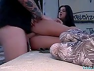 Black-haired Serbian chick is such a kind of girl, who readily offers pussy to pickup master for cash