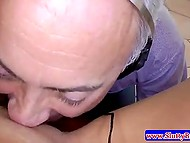 Glamour Finnish blonde tastes old porn agent's cock passing casting in the Great Britain 6