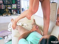 Young minx seduced her old teacher so that he could cum in her wonderful pussy 7