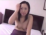 Japanese girl changes pantyhoses one by one to joy of people who like this sexual fetish 7