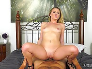 Lovely Aubrey Sinclair executes all fans' sexual suggestions together with her colleague 6