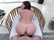 In POV video, comely MILF Lilly Love is nicely penetrated with partner's fuckstick