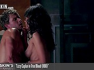 Steamy compilation of sensual sex scenes from various films and television series
