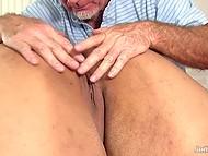 Masseur prepared special massage with several vibrators for his pretty BBW client 10