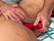 Masseur prepared special massage with several vibrators for his pretty BBW client 7