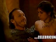 Compilation of scandalous erotic scenes from one of the best modern TV-series 'Game of Thrones' 11