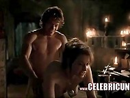 Compilation of scandalous erotic scenes from one of the best modern TV-series 'Game of Thrones'