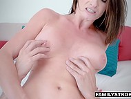 Attractive MILF decided to teach her naughty stepson a lesson for being bad guy 7