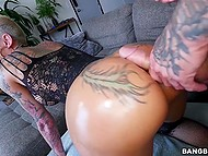 Short-haired MILF has big ass and her tight pussy wants a strong dick right now 4