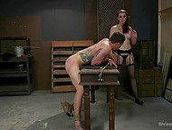 Dominant female knows how to make man cry and have fun at the same time 5