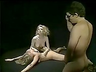 Full-length vintage movie for adults about blonde-haired stripper's sexual adventures 11
