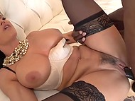 Black worker came to repair the door but well-shaped cougar Lisa Ann had other plans 6