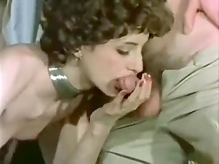 Vintage porn video made in Denmark featuring dirty-minded females going mad about anal sex