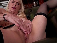 Woman in years comes to fulfill her dirty sexual desires and stimulate clitoris as well 6