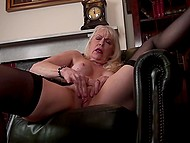 Woman in years comes to fulfill her dirty sexual desires and stimulate clitoris as well 7