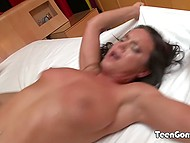For better pleasure handsome guy nails hot babe in juicy peach like jackhammer 8