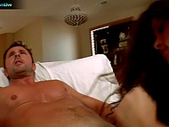 Energetic males roughly penetrated big-bootied slut for losing billiard game 4