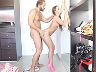 Fascinating Spanish babe with long hair gladly served experienced fucker Nacho Vidal 4