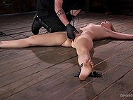 Unholy girl has succumbed to the temptation of BDSM and now she can cum only when she is enslaved 4