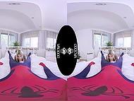 Nice VR XXX video where petite teen Gina Gerson rewards Spider-Man with sex 6