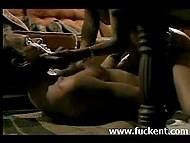 Fragment from full-length vintage movie featuring beautiful Halle Berry getting fucked by mature partner 8