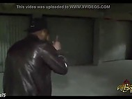 Criminals caught Arab female in hijab downstairs and owned both her holes hard 6
