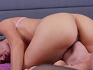 Nobody knows how to moisten pussies better than these two dames so they moan loudly 10