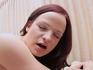 Two girlfriends discuss daily problems and begin to play with their super-hot bodies 7