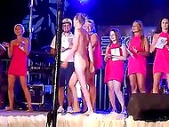 Naughty Croatian girls organize a contest to find out whose naked body is the sexiest one 5