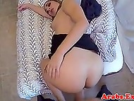 Sexy Arab girl prefers to give her pussy to hotel owner for money instead of leaving the room 7