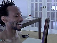 There were two women at dinner but man and black friend fucked blonde mature 5
