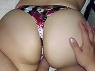 Husband with camera lets Turkish wife with huge butt to relax while he moves cock in vagina from behind 11
