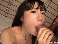 Friendship starts with a smile and Japanese group sex with men's fingers in girls' pussies 5