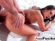 Big-tittied Asian Asa Akira woke up from nightmare then got fucked by zombie 10
